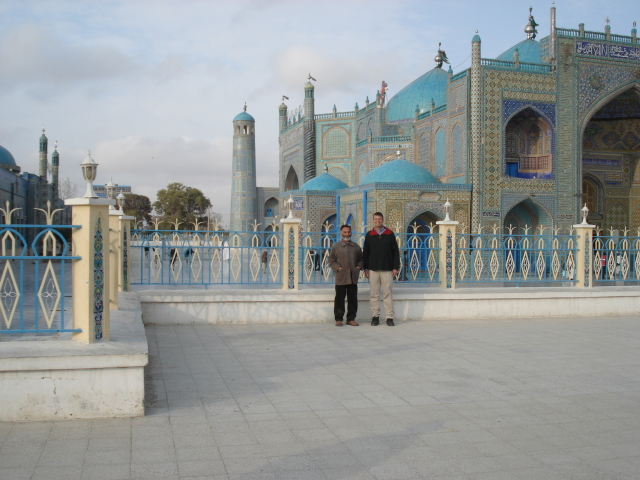 2006 11 19 shrine and mosque - Mazar 6