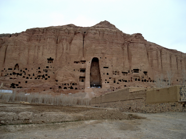2006 12 02 this is Bamyan 3 - Kleine Buddha